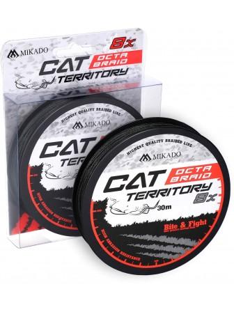 Plecionka Cat Territory Octa Braid zielona 1,2mm 30m Mikado