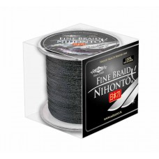 Plecionka Nihonto Fine Braid 0,10mm 300m black Mikado