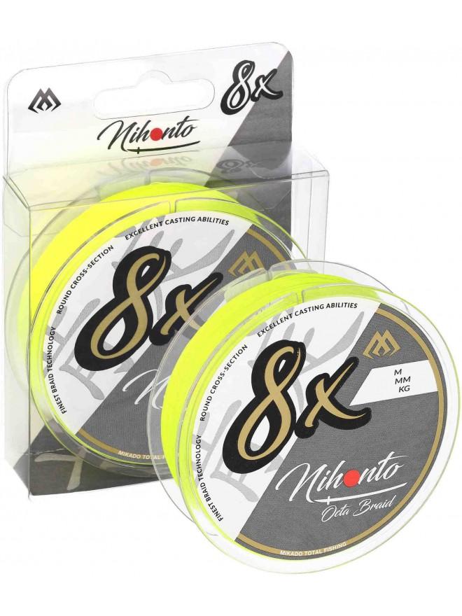 Plecionka Nihonto Octa Braid Fluo 0,23mm 150m Mikado