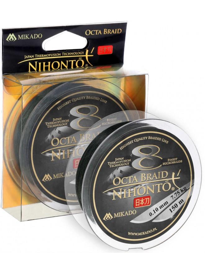 Plecionka Nihonto Octa Braid Green 0,20mm 150m Mikado