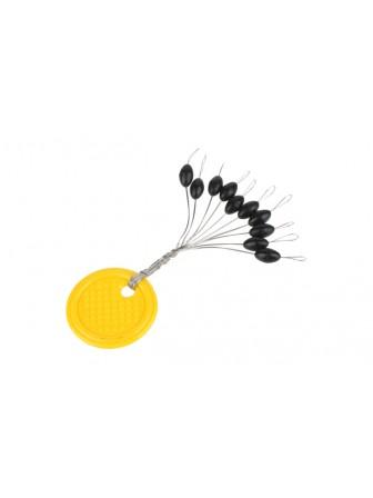 Stopery gumowe Trout Campione rozmiar L Mikado