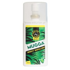 Spray 9,5% Deet preparat przeciwko komarom i meszkom Mugga