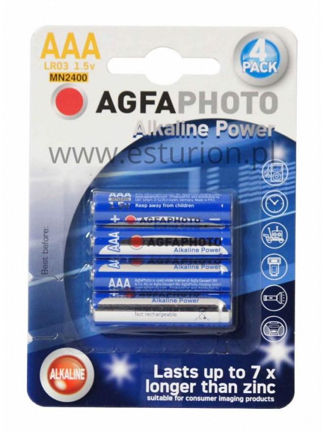 Baterie alkaliczne 1,5V AAA Agfa