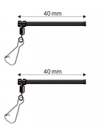 Rurka antysplątaniowa Micro 4cm 2szt Stonfo