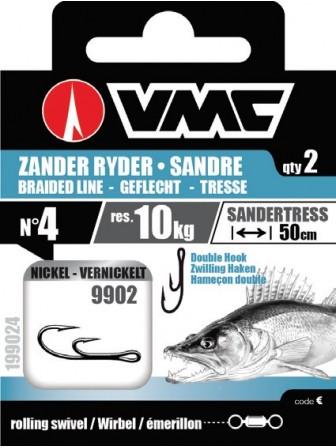 Przypony Zander Ryder Braid nr #1 VMC